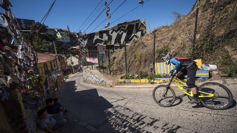 Red Bull Valparaíso downhill