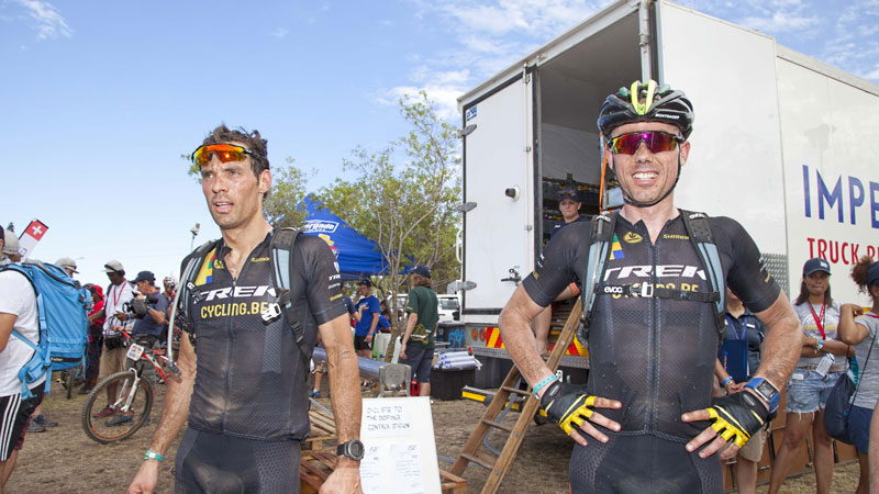 Sven en Sven in Cape Epic: deel 4