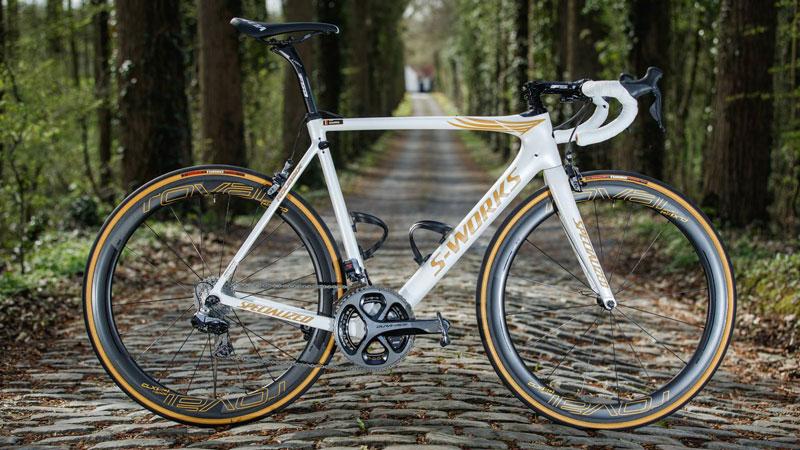 Nieuwe Roubaixfiets Tom Boonen