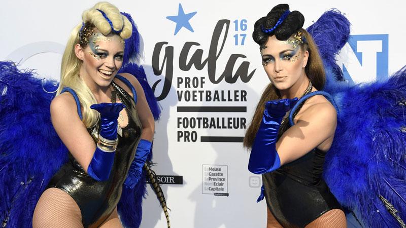 Gala Footballeur Pro de l'Année - le tapis bleu