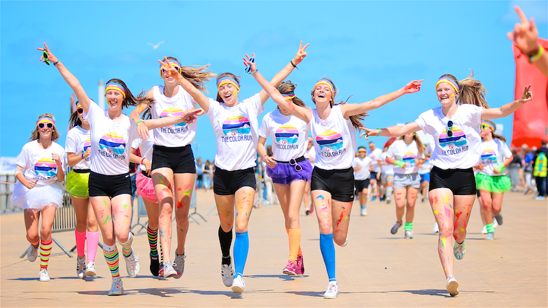 Color Run Ostende
