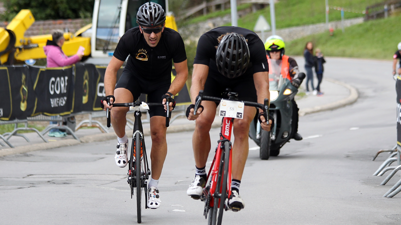 Chasing Cancellara in Aigle