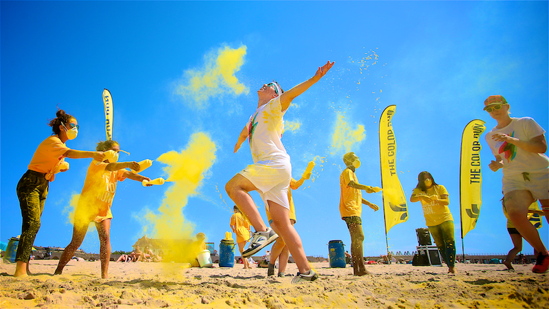 The Color Run Oostende 2018