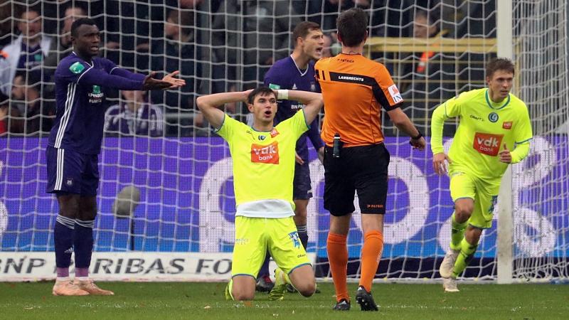 Résumé Anderlecht - La Gantoise