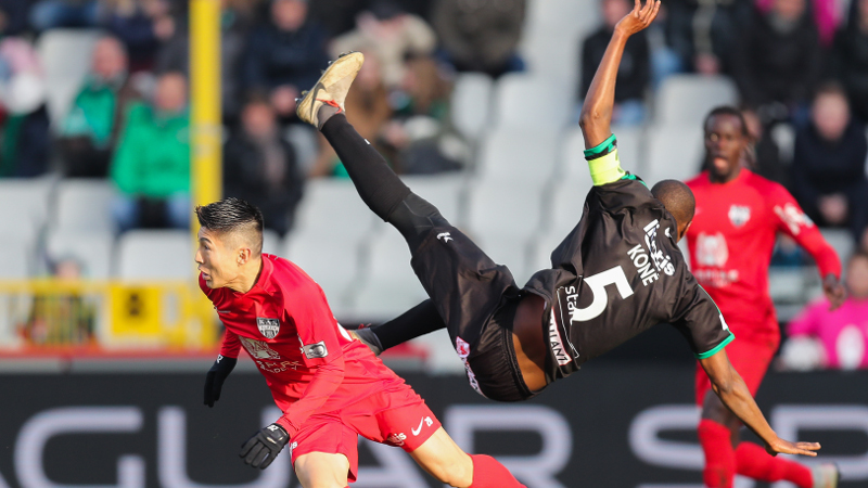 Samenvatting Cercle Brugge - Eupen