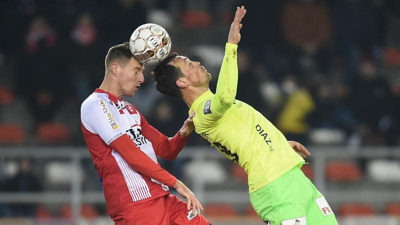 Résumé Mouscron - KV Ostende
