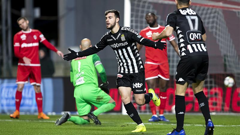 Résumé Antwerp - Charleroi