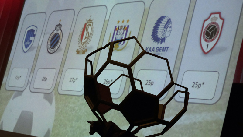Kalendervoorstelling Jupiler Pro League Play-Offs