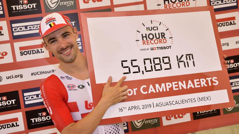 VictorY Campenaerts - 55,089 km