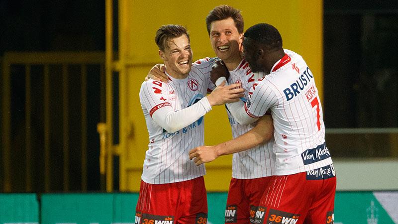 Van der Bruggen helpt Kortrijk aan drie punten