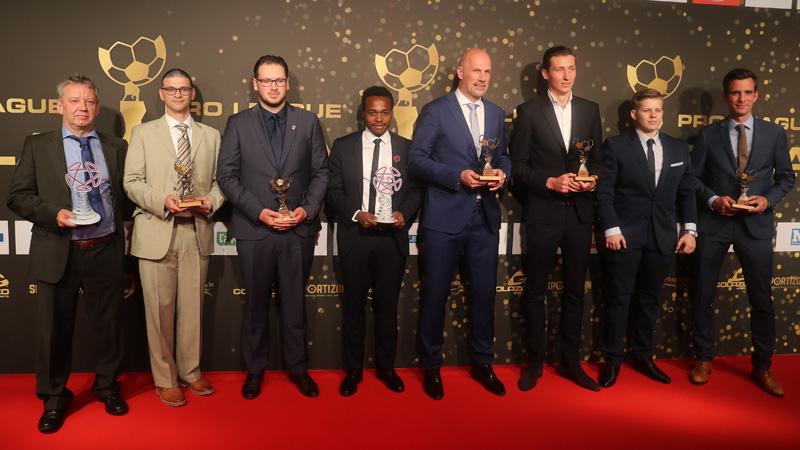 Gala Pro League 209: les lauréats