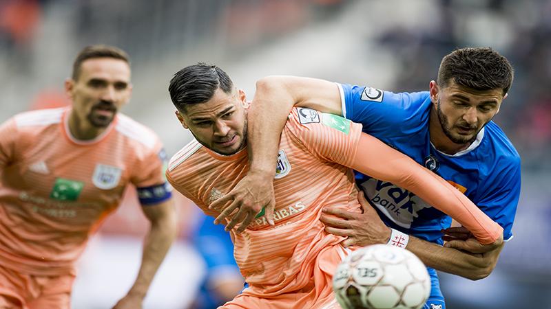 Résumé La Gantoise - Anderlecht