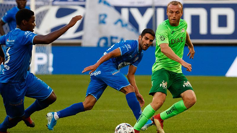 Samenvatting KAA Gent - KV Oostende