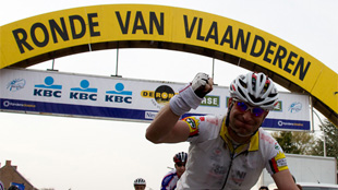 Tour of Flanders for cyclotourists & mountainbikers 2011