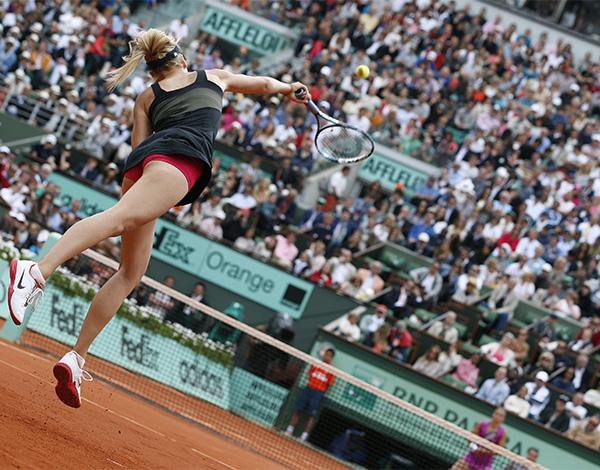 Roland Garros Handdoek.Roland Garros Dag 14
