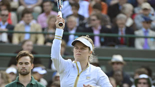Kim Wimbledon: Match vs. Zvonareva