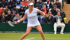 Kim Wimbledon: Match vs. Kerber