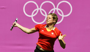 Kim Clijsters at the Olympic Games
