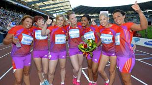 100m vrouwen voor Afrika